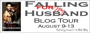 Falling for my husband Blog tour banner
