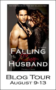 Falling for my husband Blog tour Button