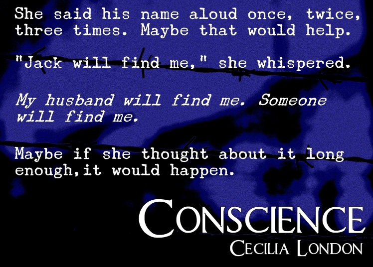 conscience barbed wire blog tour